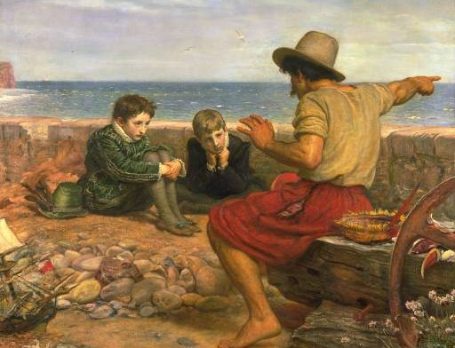Millais' Boyhood of Raleigh
